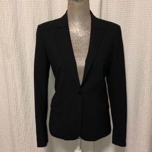 Theory black blazer, size 10